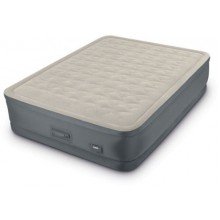 Intex Queen Premaire II Elevated Airbed with 220 - 240V Built-In Pump (152 cm x 203 cm x 46 cm)