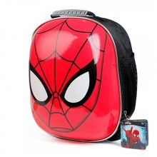 Spiderman Helmet and Protection Set Shoulder Bag
